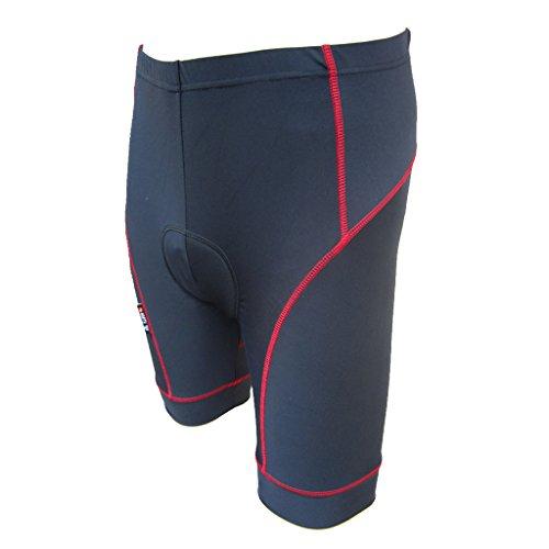 精通したその間助けてFlameer 男性 ロード バイク ライディング サイクリング ショーツ パンツ ジェルパッド付き 吸湿発散性 ソフト 快適 全3色4サイズ選ぶ