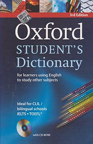 Oxford Student's Dictionary Paperback with CD-ROM
