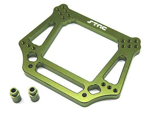 ST Racing Concepts ST3639G 6mm Had Front Shock Tower for Stampede, Rustler, Slash and Bandit (Green)