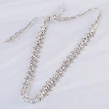 Amazon.com: 1 Yard Rhinestone Wedding Dress Belt Applique