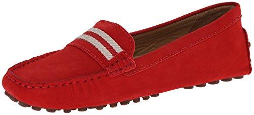 Bernardo Womens Drive U Crazy Slip-On Loafer Red