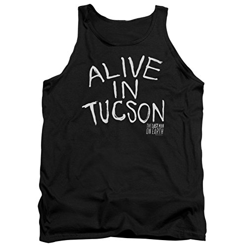 Tank Top: Last Man On Earth- Alive In Tucson Size (Earth Tank)