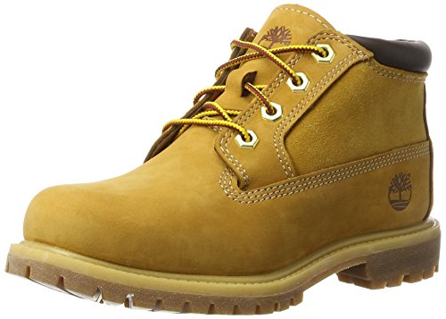 Timberland Womens Nellie Chukka Wheat Nubuck Boots 8.5 US