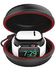 CFX Charging Custodia Compatible with iWatch per Airpods, Caricabatterie Silicone di Stoccaggio del Supporto Dock,Stazioni di Ricarica per AirPods, Compatible with iWatch …