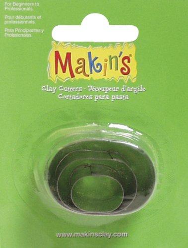 (Makin's USA M360-5 Clay Cutters, Oval, 3 Per)