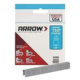 Arrow Fastener 508 Genuine T50 1/2-Inch