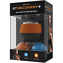 KT Tape Recovery+ Ice/Heat Massage Ball, Muscle Pain & Stress Relief, HSA/FSA Approved, Therapeutic Roller