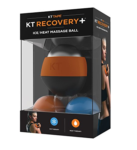 KT Tape Recovery+ Ice/Heat Massage Ball, Muscle Pain & Stress Relief, HSA/FSA Approved, Therapeutic Roller by KT Tape