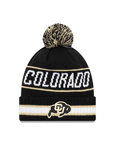 Colorado Buffaloes College Vintage Select Knit Pom Beanie - Black ,