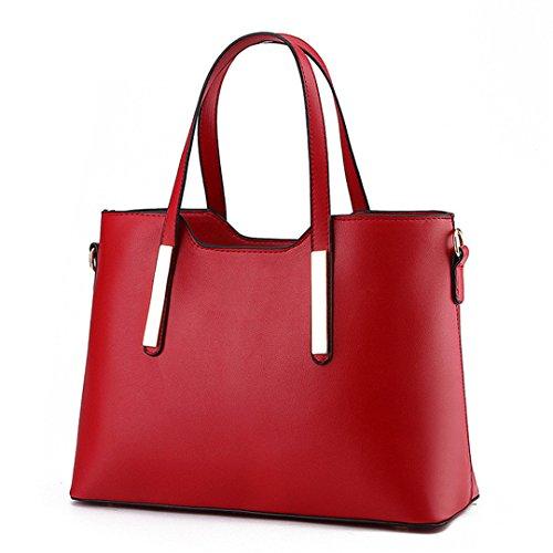 bolsos Red Crossbody hombro mujeres Las Handle Top amp; casual Bolsas Tote Mujer Diseñador para bolsas púrpura femenino bandoleras wB6x6TgX