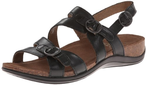 Dansko Women's Jameson Dress Sandal,Black,37 EU/6.5-7 M US
