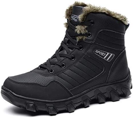 ワークブーツスノーブーツレッキングシューズ メンズ 防水 防滑 アウトドア キャンプ シュー ズ 軽量 耐磨耗 登山靴 メンズ ハイキングブーツ 通気性 ウォーキングシューズ 裏起毛 ショートブーツ おしゃれ