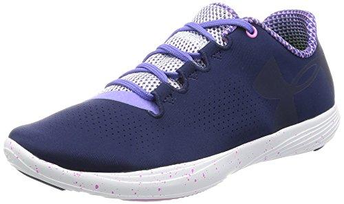 Under Armour Women Ua Street Precision Low Exp Training Shoes Midnight Navy / Violet Storm / Midnight Marine