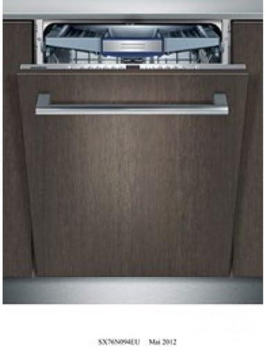 Siemens - Lavavajillas integrables sx76n094eu: Amazon.es: Hogar