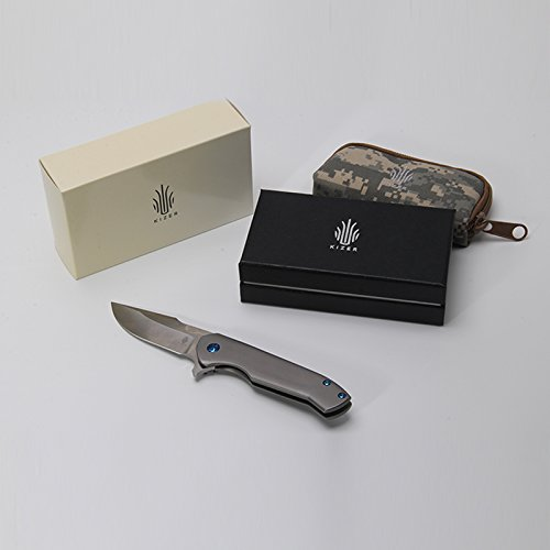 Kizer Knives Ki5467 Tactical Folding Knife,Pocket Hunting Rescue Tool,EDC,Outdoor Survival Knife by Kizer Cutlery Knives (Image #5)