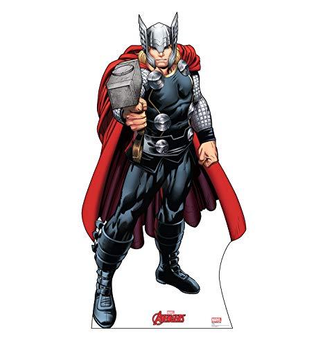 Advanced Graphics Thor Life Size Cardboard Cutout Standup