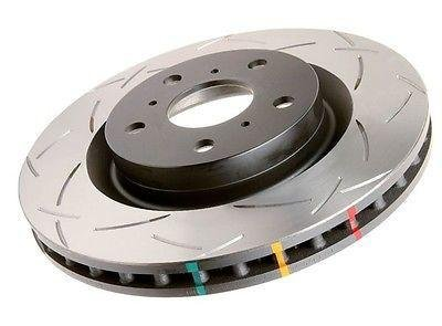 DBA (4654S-10) 4000 Series Slotted Disc Brake Rotor, Front