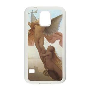 J-LV-F Customized Print Cupid Cherub Hard Skin Case For Samsung Galaxy S5 I9600