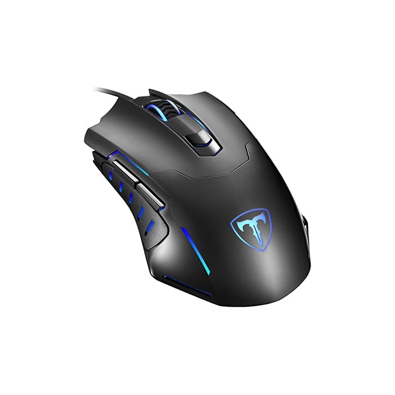 Gaming Mouse Wired, Pictek 6 Buttons Erg