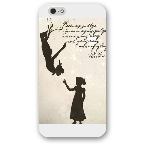 XILING Customized White Disney Cartoon Peter Pan iphone 6/6s/6s Plus Case, Only fit iphone 6/6s/6s 5.5
