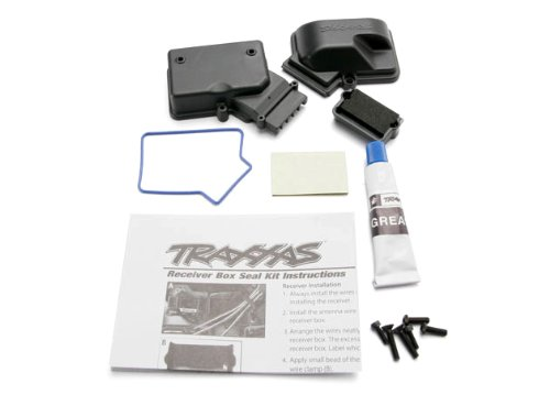 - Traxxas 3924 Receiver Box with Seals and Hardware