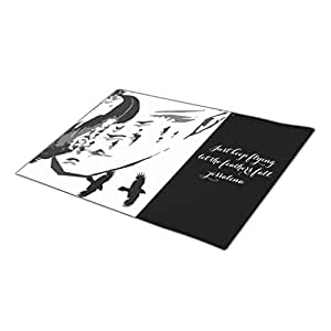 QuiQ Custom Doormat Spiritual Animal Blank One size