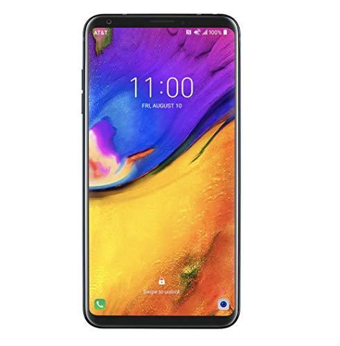 "LG V35 ThinQ (64GB, 6GB RAM) 6.0"" QHD+ FullVision, Dual Camera, 4G LTE GSM AT&T Unlocked Smartphone US Warranty (Black) from LG"