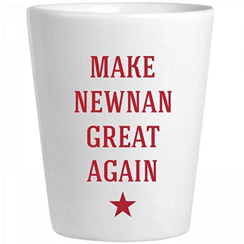 Make Newnan Great Again: Ceramic Shot Glass (Party City Newnan)