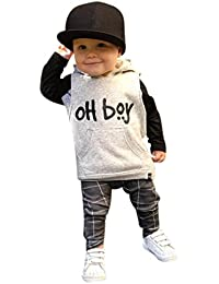 Infant Baby Girl Boy Clothes Set Fashion Hooded Tops+Pants Outfits