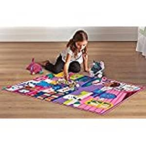 Amazon Com Disney Doc Mcstuffins Game Rug Includes 5
