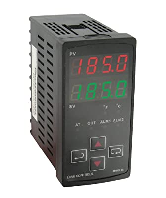 Dwyer 8C-3 Temperature Control, 1/8 DIN, Temperature Input, Relay Output