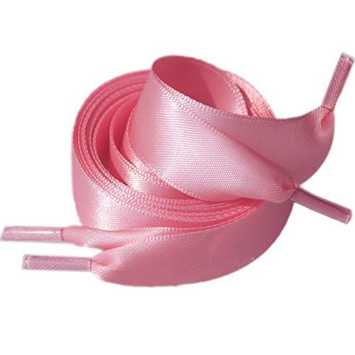 Satin Ribbon Shoelaces for Women Girls 1 Pair