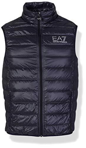 Emporio Armani EA7 Men's Train Core Down Vest, Night Blue, XX-Large