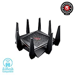 ASUS AC5300 Tri-band Gigabit Wireless Router - Runner-up, Best Overall