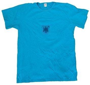 Commando Industries Original Camiseta de entrenamiento Camiseta las fuerzas armadas alemanas azul usado Diversos Tamaños -