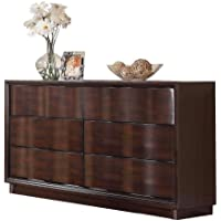ACME 20525 Travell Dresser, Walnut Finish