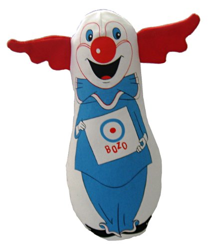 Multipet Bozo The Clown Plush Dog Toy, 8-Inch Review