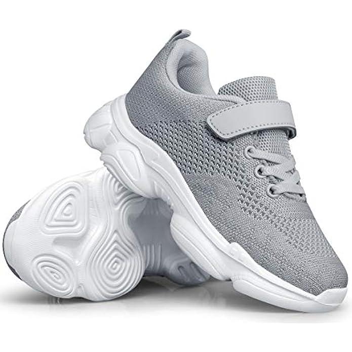 MURDESOT Kids Shoes Toddler Boys Girls Athletic Running Sports Strap Sneakers for Toddler/Little Kid/Big Kid