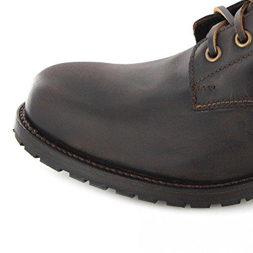 FB Fashion Boots Sendra Boots Stiefel 10604 Cafe/Schnürstiefel Braun/Urban Boots Herren/Schnürer/Stiefelette Cafe