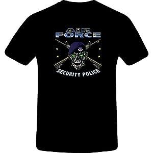 Air Force Security Police, Best Quality Custom Tshirt (4XL, BLACK)