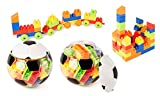 LELE Brother Happy Blocks Soccer Ball - Black