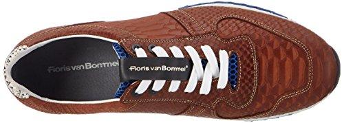 Floris van Bommel 16277/08 - Zapatillas de casa Hombre marrón