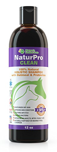 Oatmeal Dog Shampoo with Probiotics from Nature's Perfect Pets LIFETIME GUARANTEE