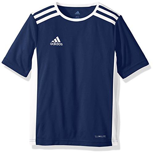 adidas Entrada 18 Jersey, Dark Blue/White, Large