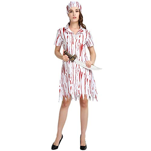 Cheap Halloween Costumesa - JSFQ Horror Chef Female Role Playing,