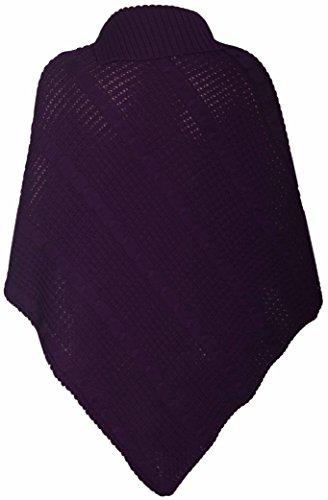 Hanger Viola Purple donna Poncho Hanger Poncho Purple Wpxq5w8SnB