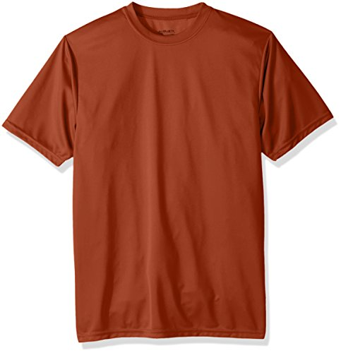 Augusta Sportswear Boys Wicking T-Shirt, Dark Orange, X-Large by Augusta Sportswear (Image #1)
