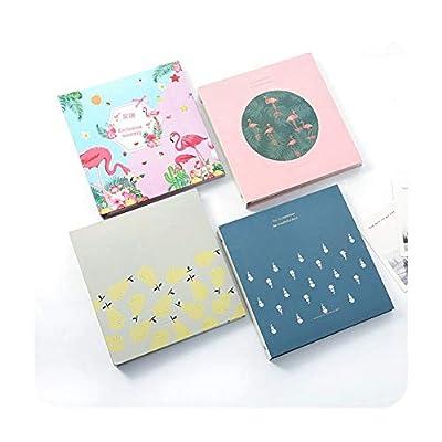 foosheeonzi Flamingo 6-inch Insert Photo Album 100 Pages Scrapbook Paper Baby Family Scrapbook Albums Wedding Photo Album Scrapbooking Album
