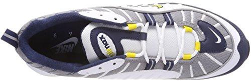 Air 105 98 Chaussures Yellow Silver White Gymnastique de Sail Max Homme Multicolore White Midnight NIKE Nav White Rflct Tour dwn4Ux