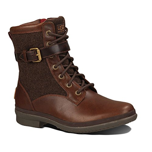 UGG Women's Kesey Motorcycle Boot, Chestnut, 8.5 B US
